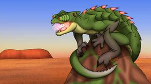 What if TF2 Mercs were Kaiju? (Sniper)