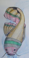 Pencil Koi by WashedUp