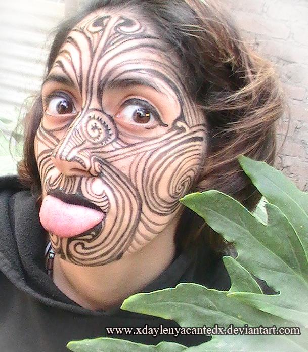 maori ta moko tribute by xdaylenyacantedx on deviantart. Black Bedroom Furniture Sets. Home Design Ideas