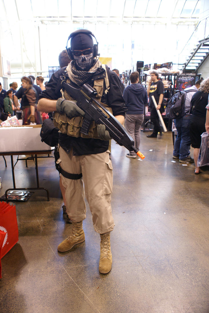 Ghost Cosplay by SnowboardingTaco