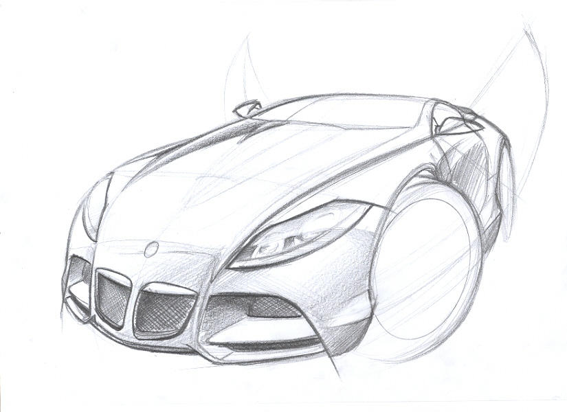 BMW Z10 sketch by husseindesign