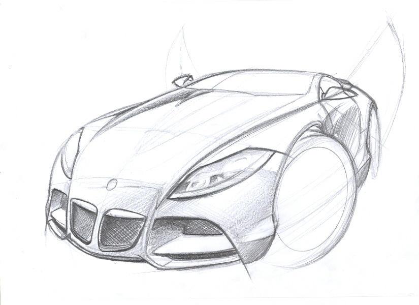 BMW Z10 sketch by husseindesign