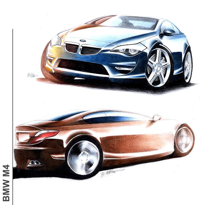 BMW M4 - 2nd Version by husseindesign