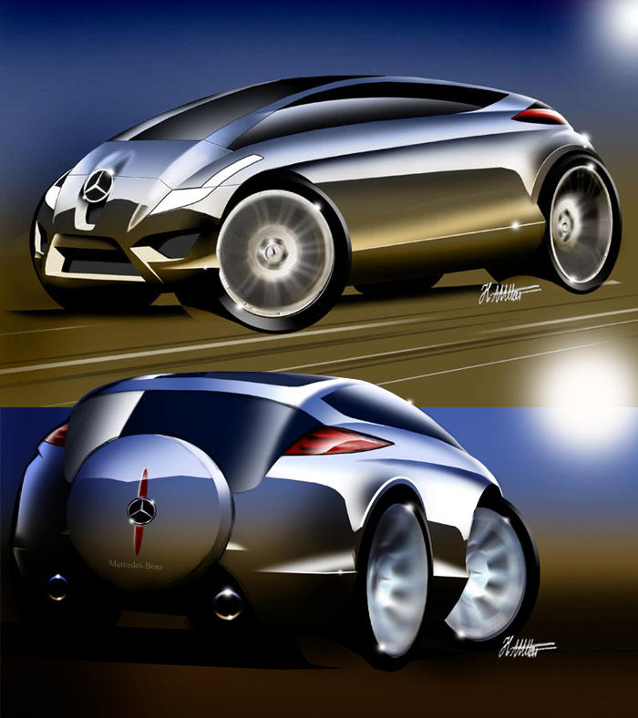 some futuristic concept by husseindesign