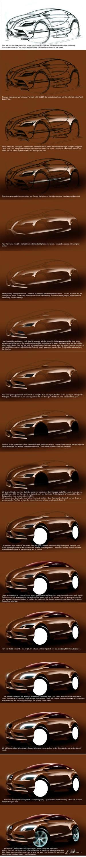 painting a car digitally