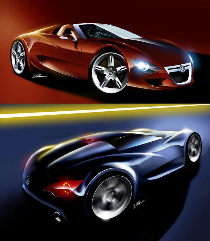 Bmw Z10: VW Targa-Coupe By Husseindesign On DeviantArt