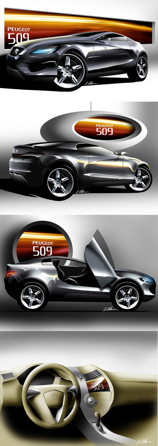 Peugeot Design Contest Entry 3 by husseindesign