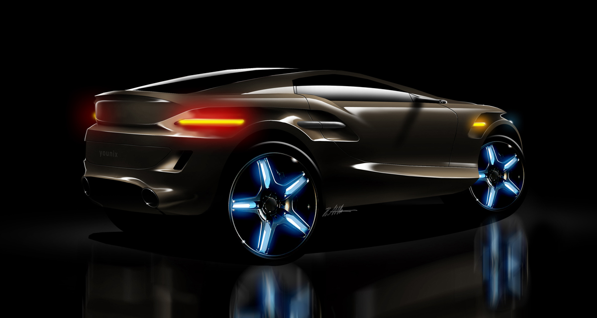 Younix Concept - rear view by husseindesign