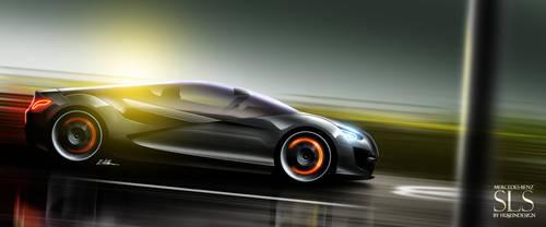 Mercedes-Benz SLS 2 by husseindesign