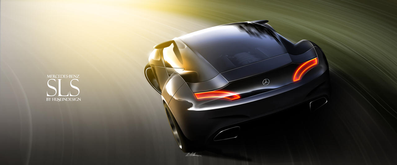 Mercedes-Benz SLS 3 by husseindesign