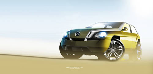 Mercedes-Benz G-class - update