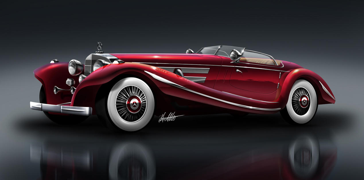 Mercedes-Benz 500 K by husseindesign
