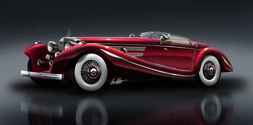 Mercedes-Benz 500 K by husseindesign