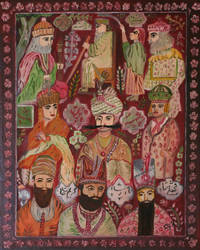 9 Persian Kings by CarolynYM