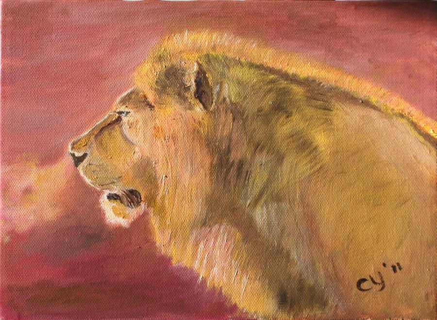 Lion by CarolynYM