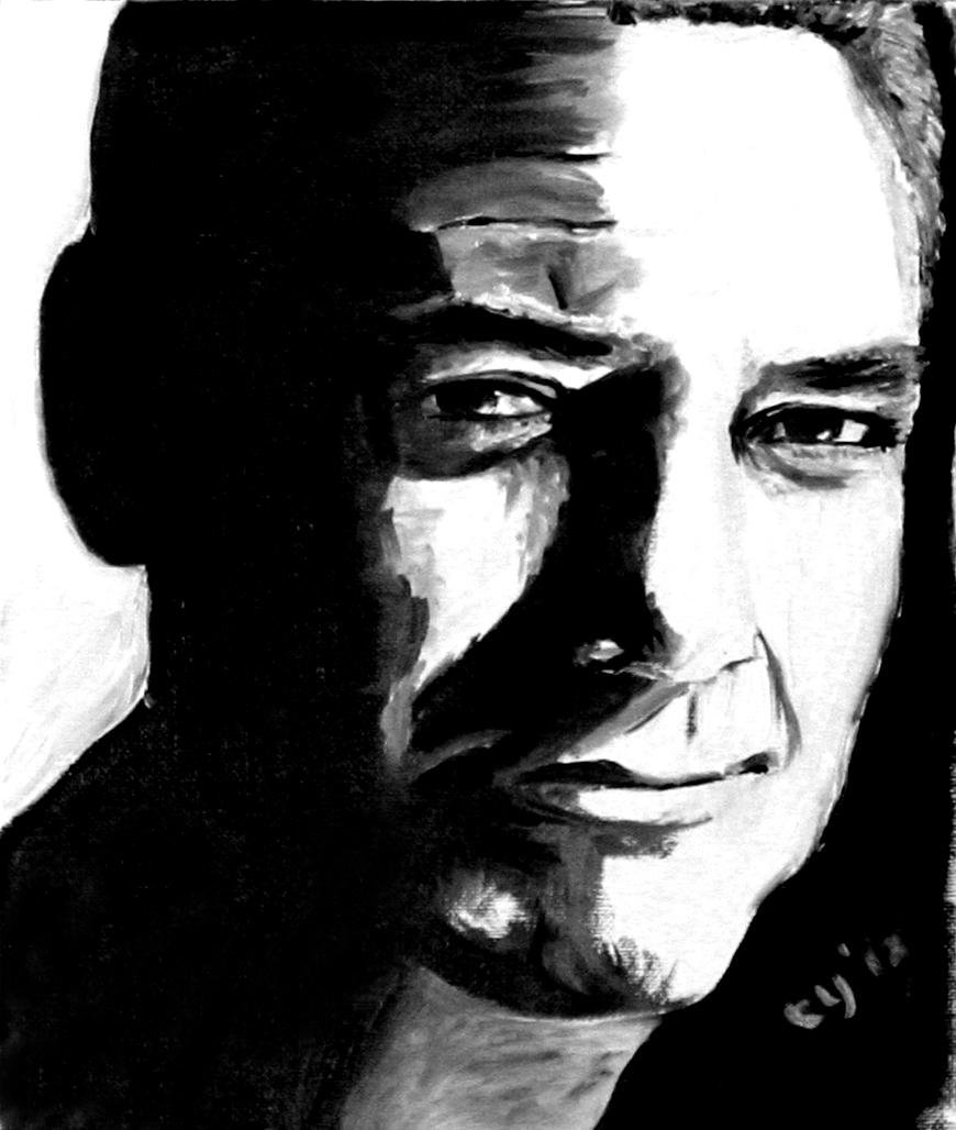 George Clooney by CarolynYM