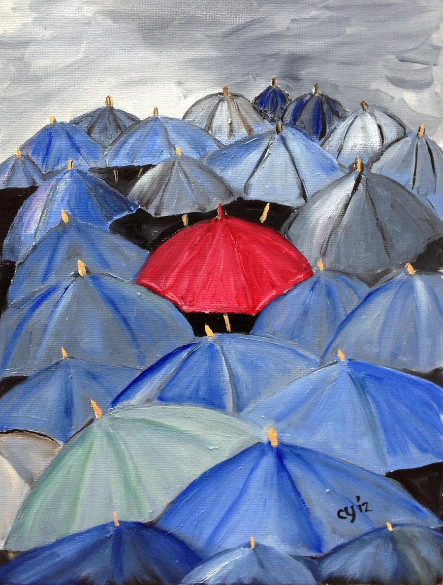 Umbrellas by CarolynYM