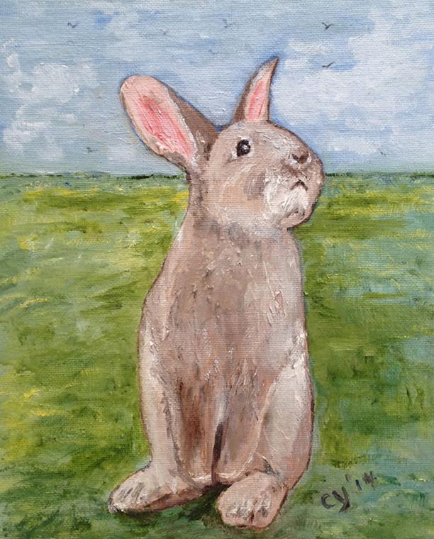 Rabbit by CarolynYM