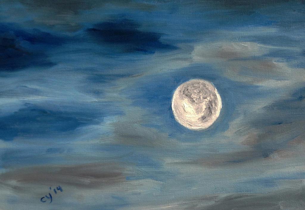 Moon by CarolynYM
