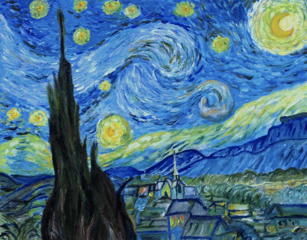 Starry Night by CarolynYM