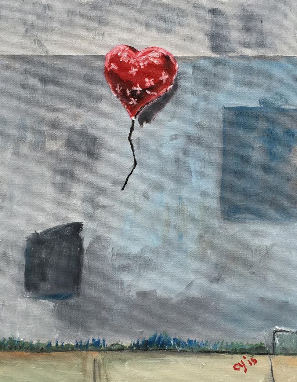 Banksy's Street Art in NY by CarolynYM