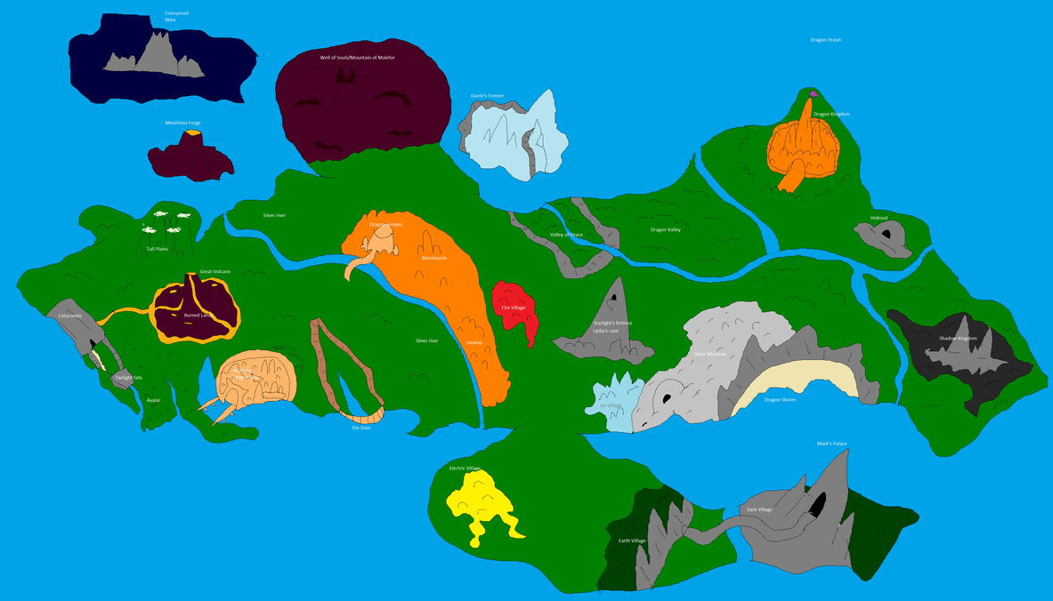 Dragon world map by legend series on deviantart dragon world map by legend series gumiabroncs Gallery