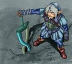 Fierce Deity - Oni Link -Color
