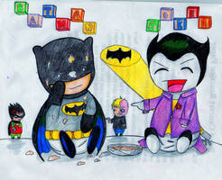 Baby Batman by WoWxSaBaW
