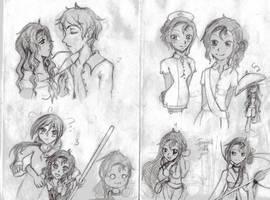 Piri-tan Sketches by WoWxSaBaW