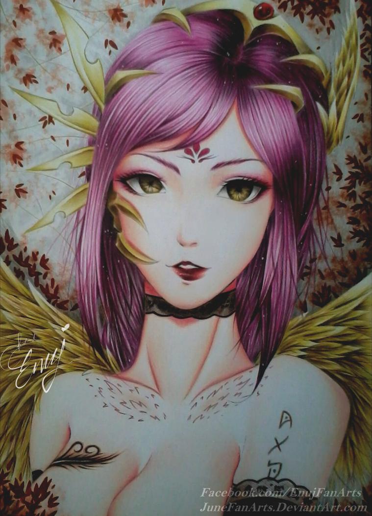 Beauty Series (2/12) by JuneFanarts