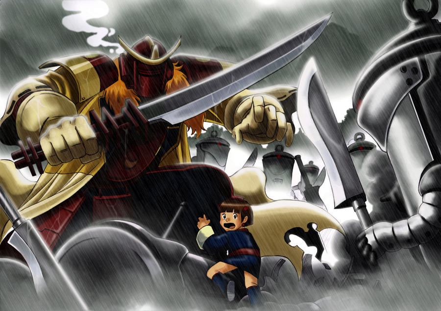 Samurai 7 Anime Characters : Samurai 7 by harrybognot on deviantart
