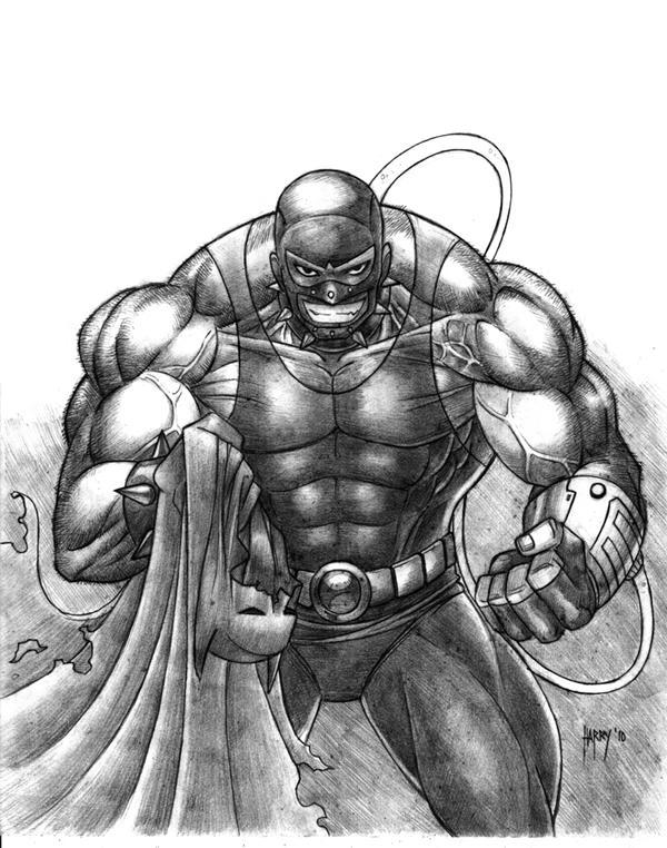 Original Bane Drawing   www.imgkid.com - The Image Kid Has It!