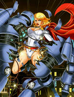 Power girl by harrybognot
