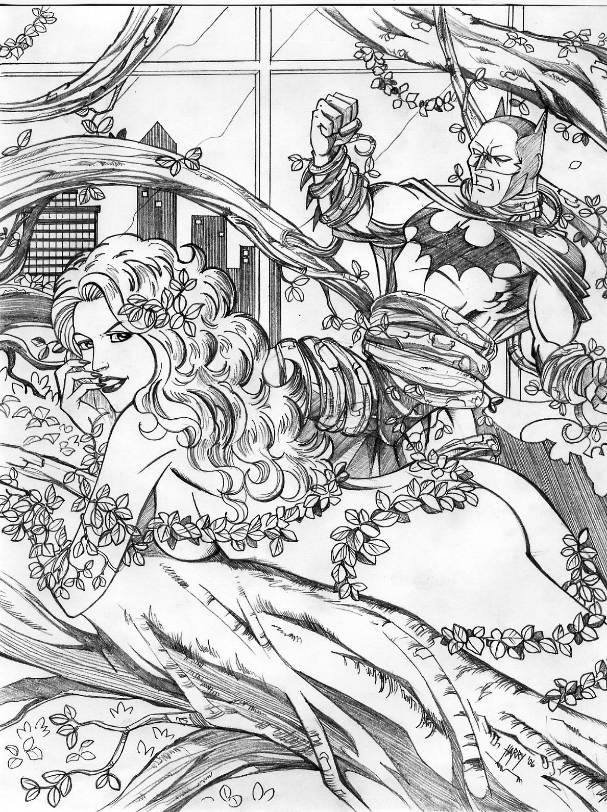poison ivy by harrybognot