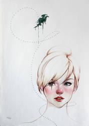 Mariposa de menta