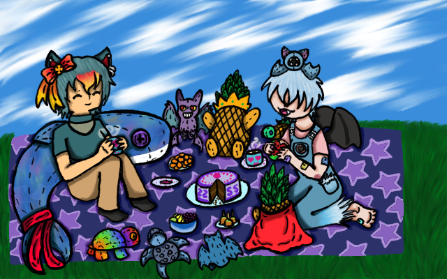 PP: Plushie Picnic by EdenHall