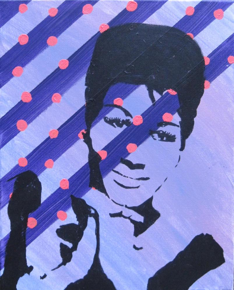 Aretha Franklin by studiomackenzie