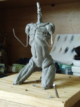 Sculpy woman WIP 2.1