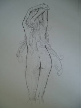 woman wip