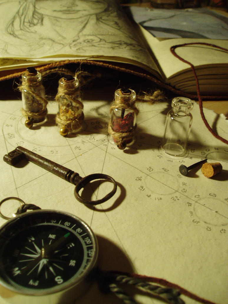 Sprite Essence Vessels by BurnedRaven