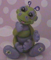 polymer clay caterpiller korky by crazylittlecritters