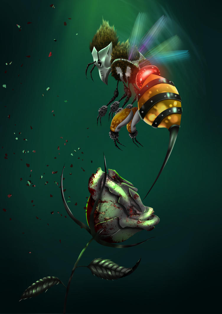 Bee by iz7