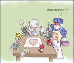 Optimus and chibis 5