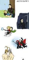 Thor sketchdump by GoreChick