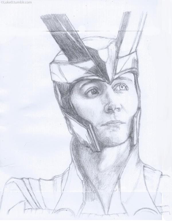 Loki portrait by GoreChick