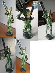 Katsuie figure by GoreChick