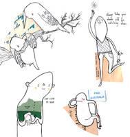 Shape Scribbles by Hannakin