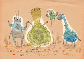 Autumn Friends by Hannakin