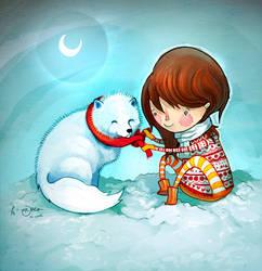 In The Snow by Hannakin