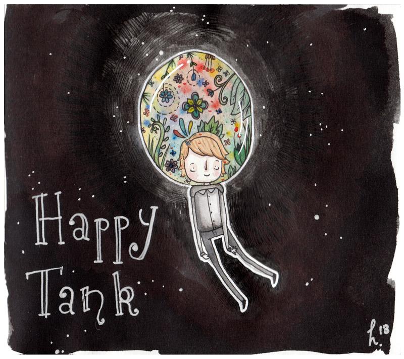 Happy Tank by Hannakin